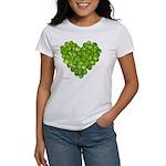 Brussel Sprouts Heart Women's T-Shirt