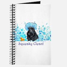 Scottish Terrier Bubble Bath Journal