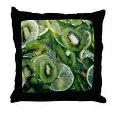 Kiwi Lime - Throw Pillow