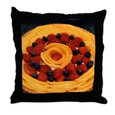Fruit Pie - Throw Pillow