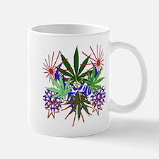 Marijuana Art Mug