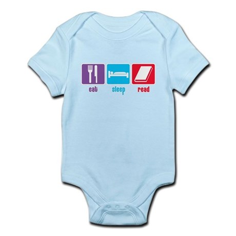 Eat Sleep Read Infant Bodysuit