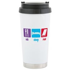 Eat Sleep Read Travel Mug