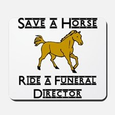 Funeral Director Mousepad