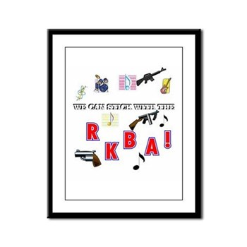 WE CAN STICK WITH THE--R.K.B.A.! Framed Panel Prin