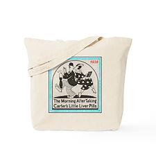 """1938 Liver Pills Ad"" Tote Bag"