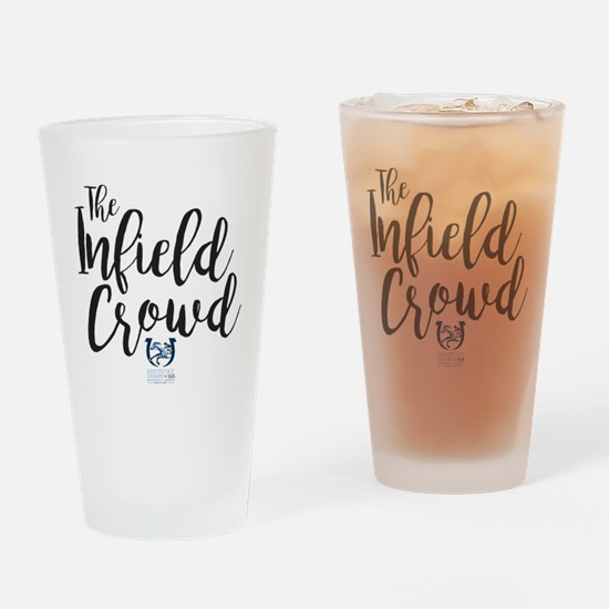 The Kentucky Derby Infield Crowd Drinking Glass