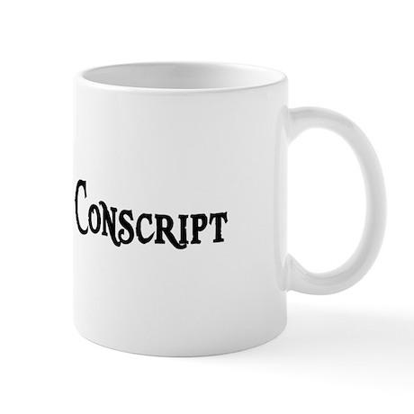 Grey Elf Conscript Mug