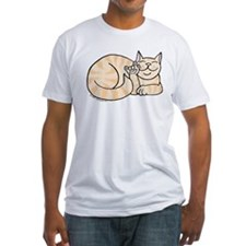 Orange Tabby ASL Kitty Shirt