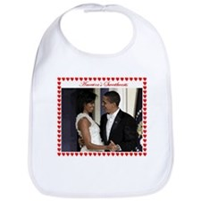 Obamas at the Inaugural Ball Bib