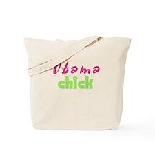 Obama Chick Tote Bag