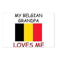 My Belizean Grandpa Loves Me Postcards (Package of