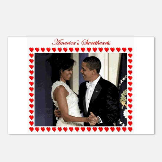 Funny Obama inaugural ball Postcards (Package of 8)