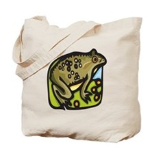 Brown Toad Tote Bag