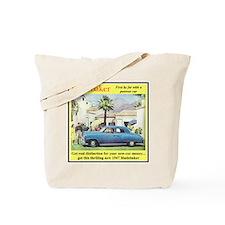 """1947 Studebaker Ad"" Tote Bag"