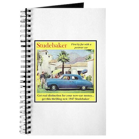 """""""1947 Studebaker Ad"""" Journal"""