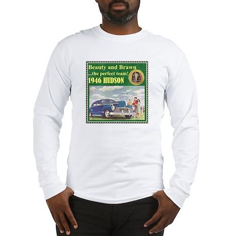 """1946 Hudson Ad"" Long Sleeve T-Shirt"