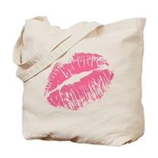 Pink Kiss Tote Bag