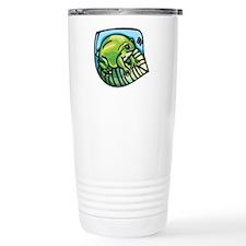 Chubby Green Frog Travel Mug