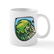 Chubby Green Frog Mug