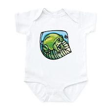Chubby Green Frog Infant Bodysuit