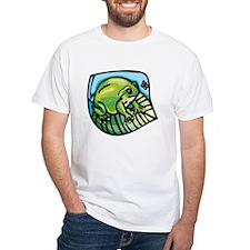Chubby Green Frog Shirt