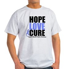 HopeLoveCure Stomach Cancer T-Shirt