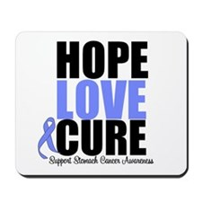HopeLoveCure Stomach Cancer Mousepad
