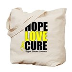 HopeLoveCure Sarcoma Tote Bag