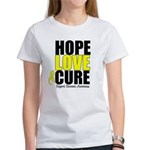 HopeLoveCure Sarcoma Women's T-Shirt