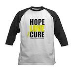 HopeLoveCure Sarcoma Kids Baseball Jersey