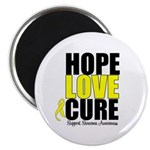 HopeLoveCure Sarcoma Magnet