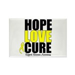 HopeLoveCure Sarcoma Rectangle Magnet (100 pack)