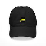 HopeLoveCure Sarcoma Black Cap
