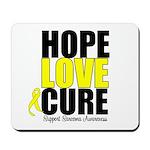 HopeLoveCure Sarcoma Mousepad