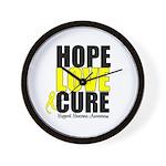 HopeLoveCure Sarcoma Wall Clock