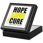 HopeLoveCure Sarcoma Keepsake Box