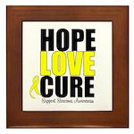 HopeLoveCure Sarcoma Framed Tile