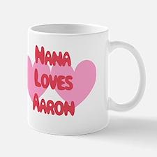Nana Loves Aaron Mug
