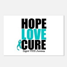 HopeLoveCure PCOS Postcards (Package of 8)