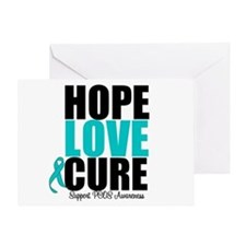 HopeLoveCure PCOS Greeting Card