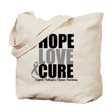 HopeLoveCure Parkinsons Tote Bag