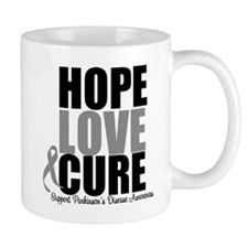 HopeLoveCure Parkinsons Mug