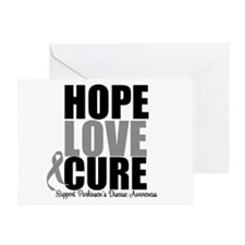 HopeLoveCure Parkinsons Greeting Card
