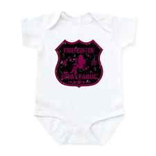 Firefighter Diva League Infant Bodysuit