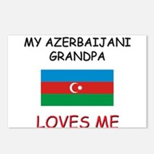 My Bahamian Grandpa Loves Me Postcards (Package of