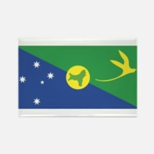 Christmas Island Rectangle Magnet