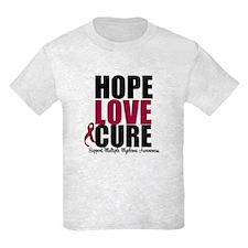 MultipleMyeloma Hope T-Shirt