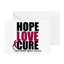 MultipleMyeloma Hope Greeting Card