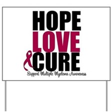 MultipleMyeloma Hope Yard Sign